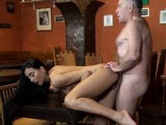 Daddy fucks companion' pal's daughter anal hd and old