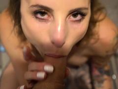 mydirtyhobby-party-girl-hanna-secret-creampie-in-the-shower