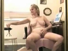 Woman records masturbating to orgasm