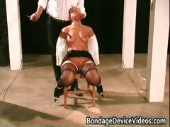 Clamps On Her Vag Hardcore Fetish Clip Part3