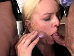 hairy-blonde-granny-double-penetration-on-interview