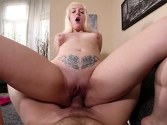 sexy-blonde-bitch-shows-her-curves-in-pov