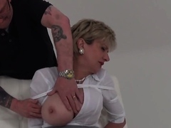 adulterous english milf lady sonia shows her giant ju40oai