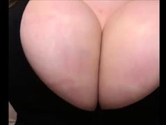 Busty Amateur Tits Bursting Out