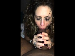 Girl awaiting husband with bbc in mouth