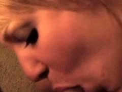 Cute Redhead Amateur Blowjob