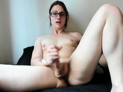 Amateur big tit shemale fucked