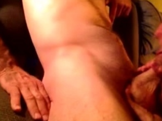 Very old granny suck young dick and drink cum