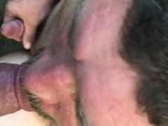 Outdoor cocksucking