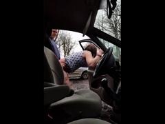 crossdresser fuck outdoor