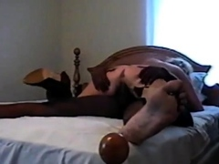 white girl in thigh boots pounded by bbc as hubby watches