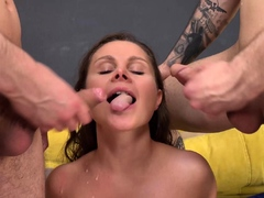 cute liza shay first time rough dp fucked