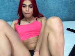 Red Haired Shemale Small Tits.