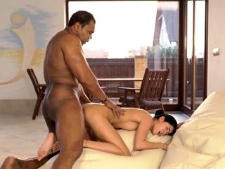 BLACK4K. Amazing hottie wants her teacher to penetrate
