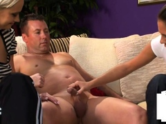 clothed-dominas-jerk-couriers-small-dick