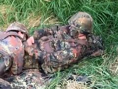 German soldiers in the field