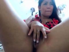 Hot Colombian slut squirt multiple times