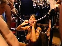 Smokin' group sex with loads of fur pie bangings
