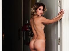 Natural boobs black babe posed naked