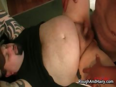 Kinky Gay Bear Rowdy Hixxx Takes Huge Part5