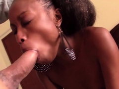 Skinny African ass fucked POV