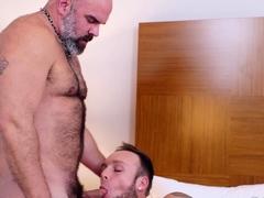 BEARFILMS Hairy Bear Dante Kirkdale Raw Fucks Sebastian Sax