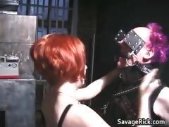 Nasty Redhead Mistress Gets This Man Part2