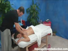 Allie Seduced And Fucked By Her Massage Therapist On Hidden