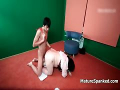 Horny Spanked Mature Housewife Gets Part6